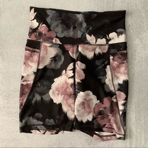 Old Navy Floral Biker Shorts